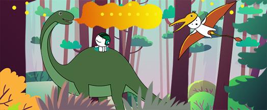 恐龍來了!